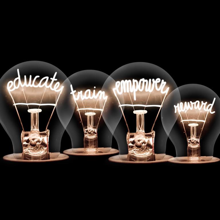 light-bulbs-educate-train-empower-reward